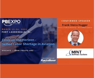 See MINT's Director of Sales & Marketing live at PBEXPO