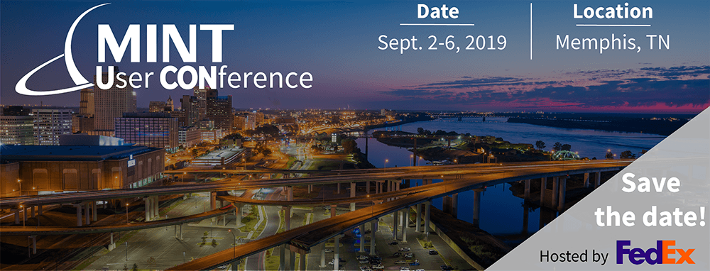 Save the Date: MINT's 2019 User Conference in Memphis, TN