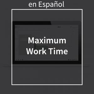 maximumworktimespanish