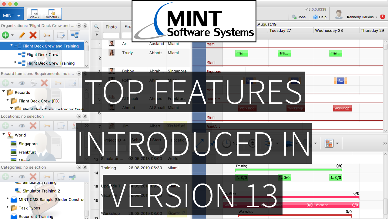 Introducing: MINT TMS Version 13