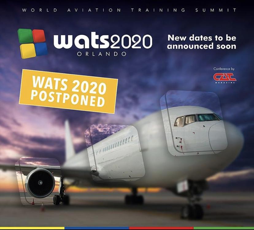 WATS 2020 Postponed