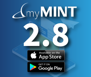 myMINT 2.8 now available in app stores